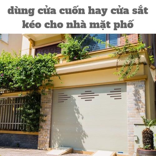 cửa cuốn hay cửa sắt