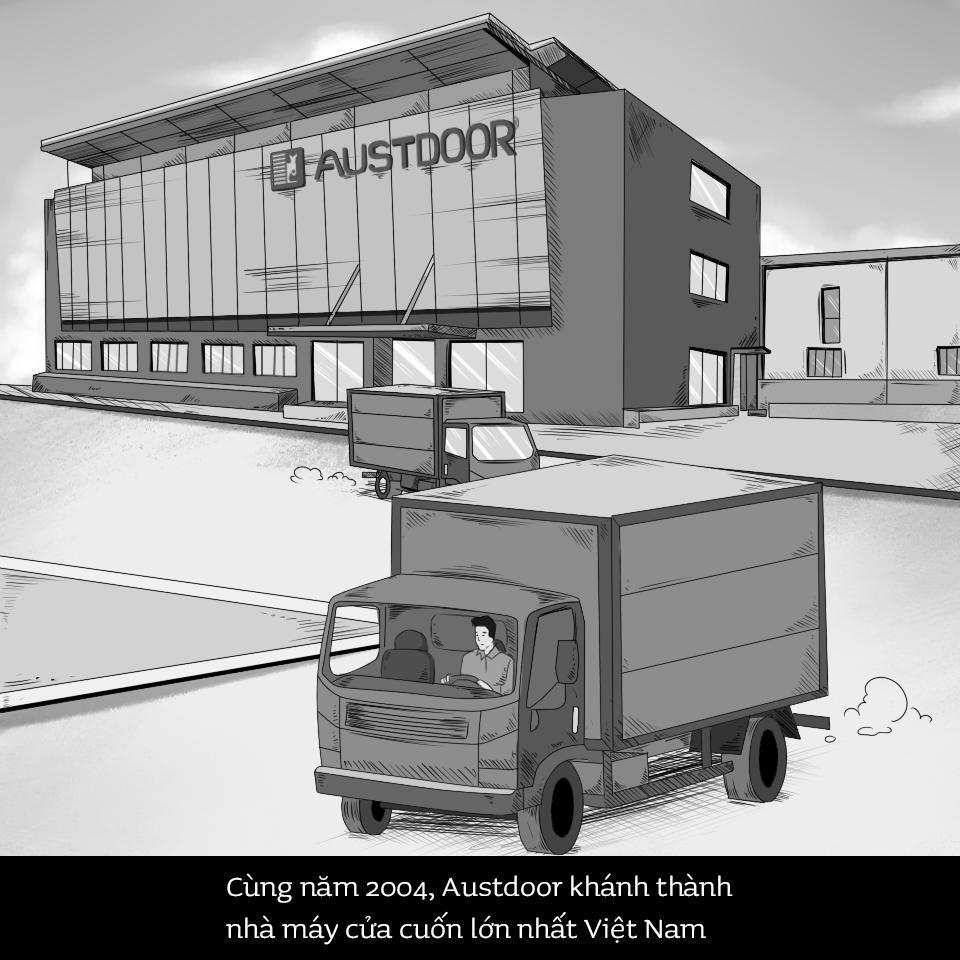 Tập đoàn Austdoor - Nhà máy cửa cuốn lớn nhất Việt Nam