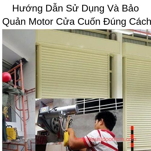 Bảo Quản Motor Cửa Cuốn Đúng Cách