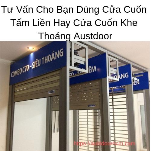 Cửa Cuốn Khe Thoáng Austdoor