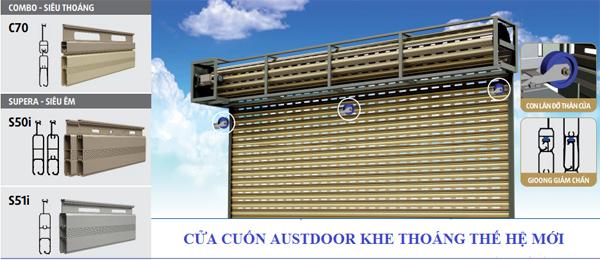 Báo Giá Lắp Đặt Cửa Cuốn Austdoor HCM Mới Nhất 2019