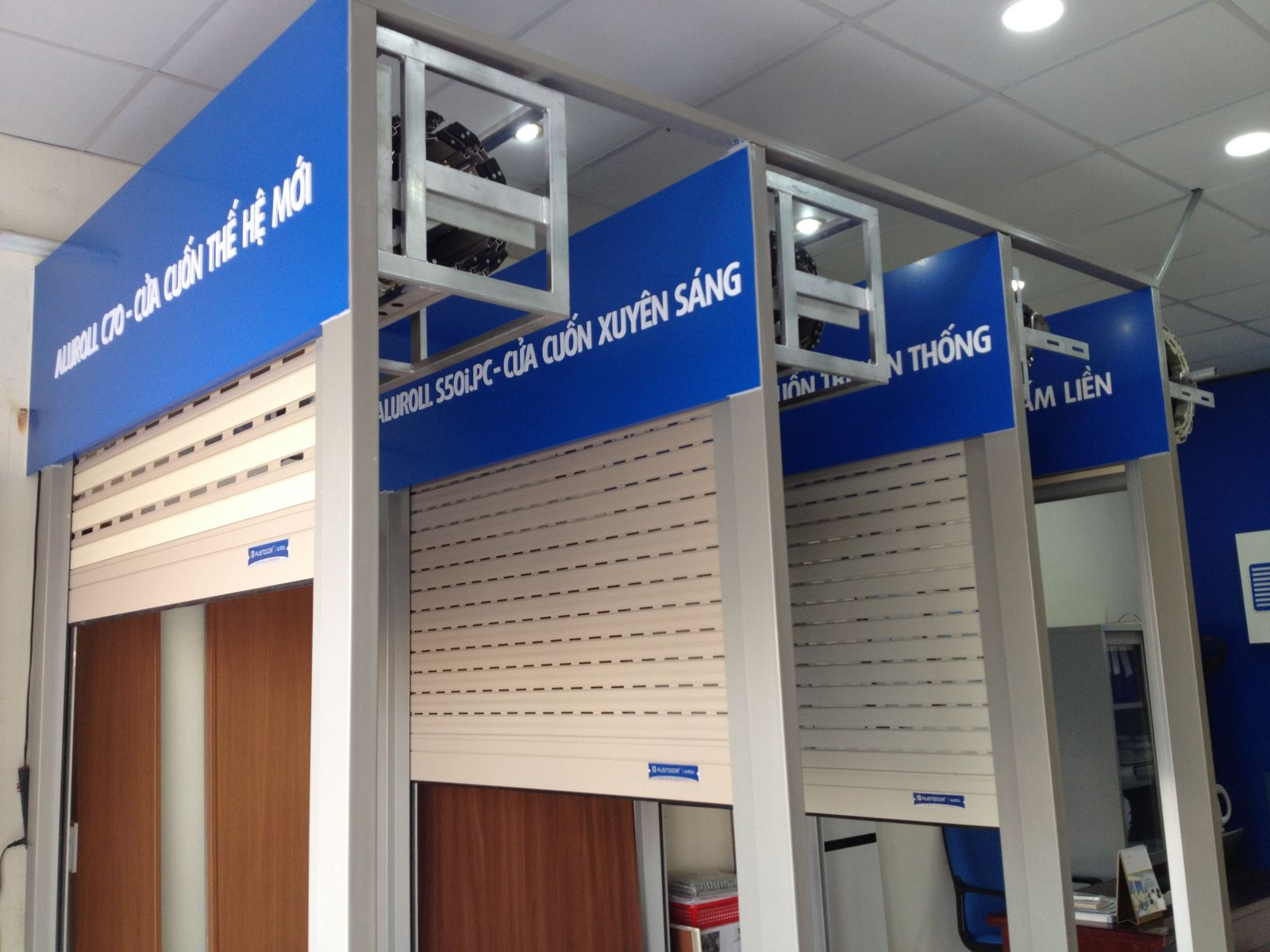 Cửa Cuốn Austdoor Quận Gò Vấp - Nhận Biết Cửa Cuốn Chính Hãng