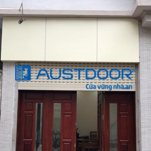 Cửa Cuốn Austdoor Tại Quận 4| Các Ưu Điểm Cửa Cuốn Tấm Liền Austdoor