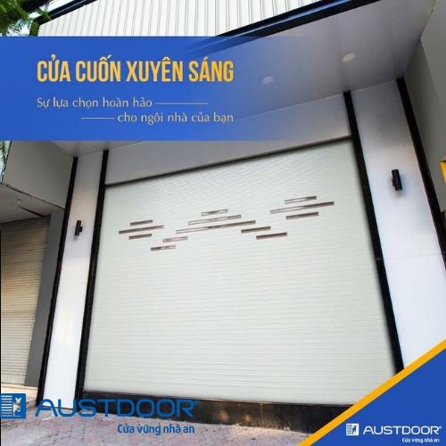 3 Mẫu Cửa Cuốn Austdoor Hiện Đại 2019