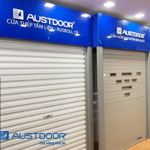 Dẫn đầu là Cửa cuốn Austdoor của công ty Tài Lộc